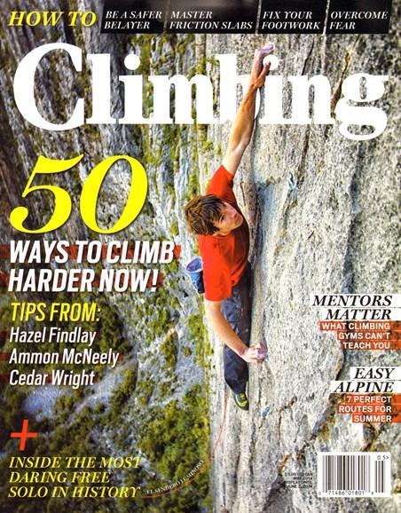 Climbing Magazine Cover - 5/1/2014