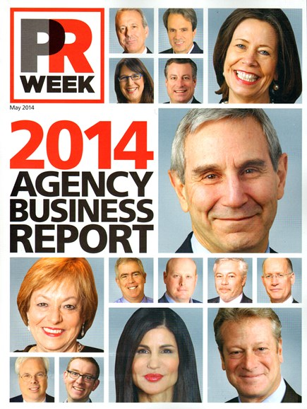 PRWeek Cover - 5/1/2014