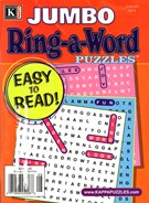 Jumbo Ring a Word Magazine 8/1/2014