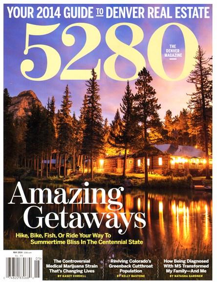 5280 Magazine Cover - 5/1/2014