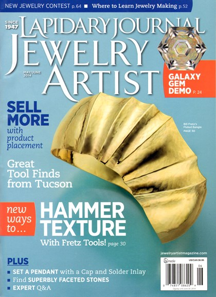 Lapidary Journal Jewelry Artist Cover - 5/1/2014