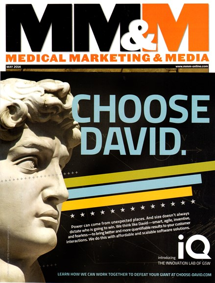 Medical Marketing & Media Cover - 5/1/2014
