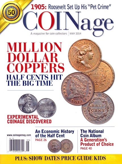 Coinage Cover - 5/1/2014