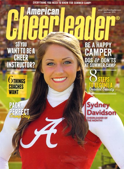 American Cheerleader Cover - 6/1/2014