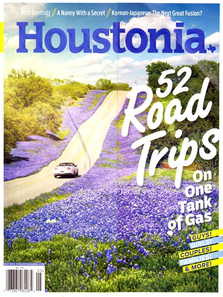 Houstonia Cover - 5/1/2014