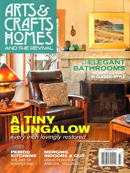 Arts & Crafts Homes Cover - 6/1/2014