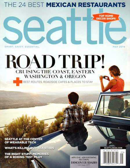 Seattle Magazine Cover - 5/1/2014