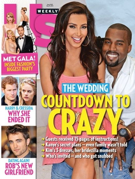 Us Weekly Cover - 5/19/2014