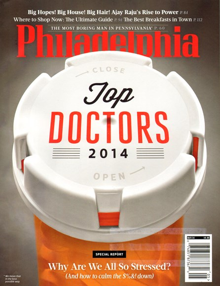 Philadelphia Magazine Cover - 5/1/2014