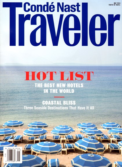 Condé Nast Traveler Cover - 5/1/2014