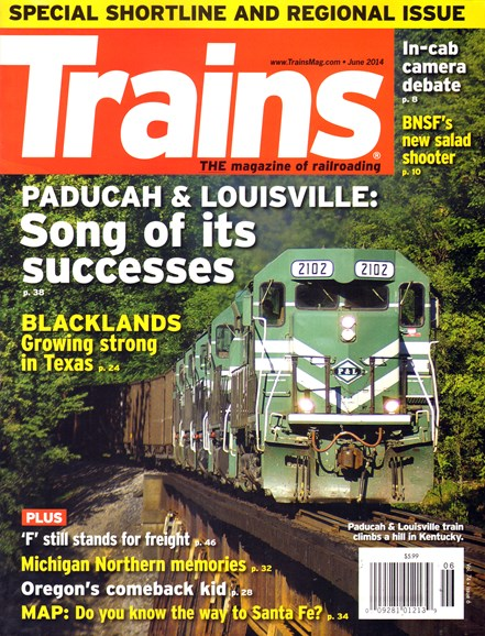 Trains Cover - 6/1/2014