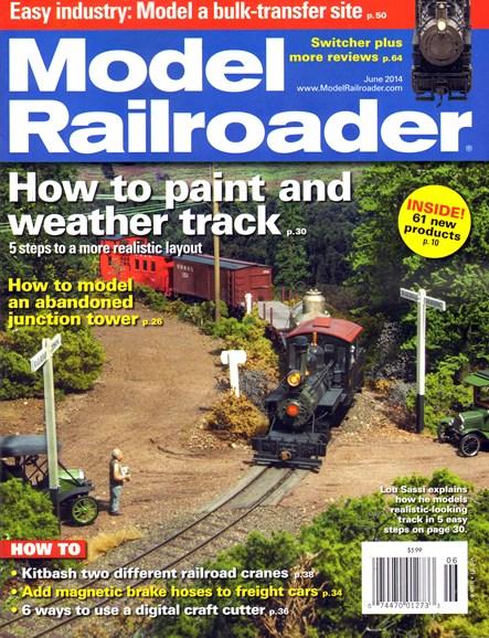 Model Railroader Cover - 6/1/2014