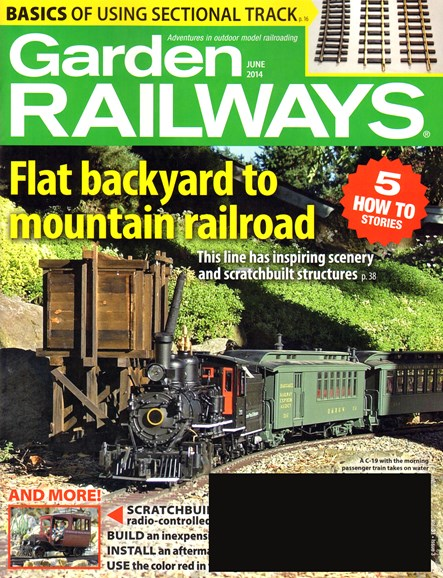 Garden Railways Cover - 6/1/2014