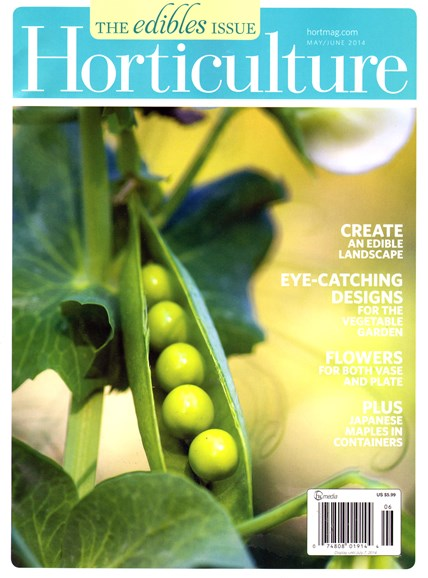 Horticulture Cover - 5/1/2014