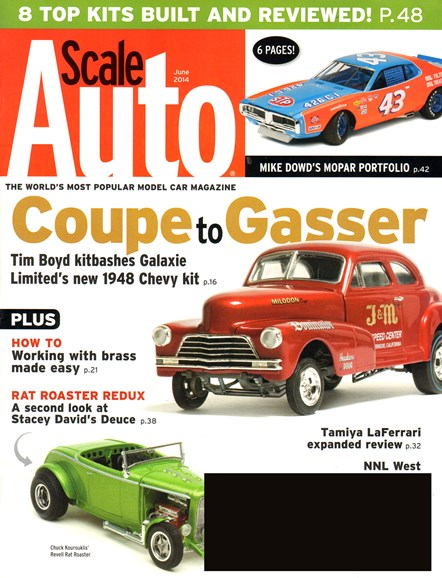 Scale Auto Magazine Cover - 6/1/2014