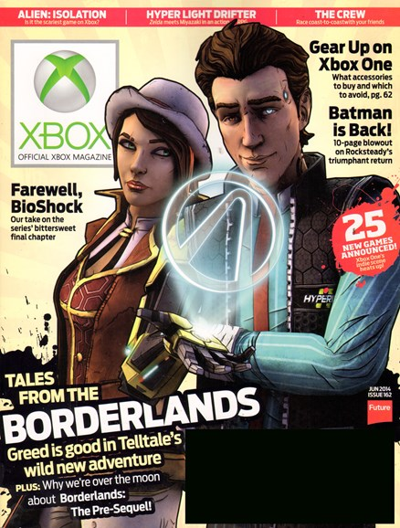 Official Xbox Magazine Cover - 6/1/2014
