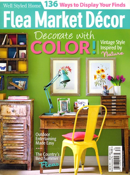 Flea Market Décor Cover - 6/1/2014