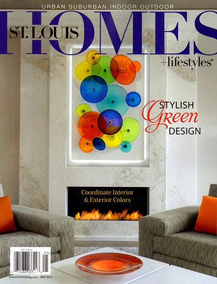 St. Louis Homes & Lifestyles Cover - 5/1/2014