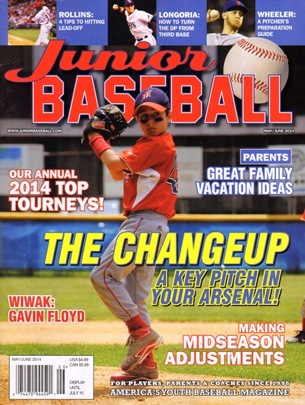Junior Baseball Cover - 5/1/2014