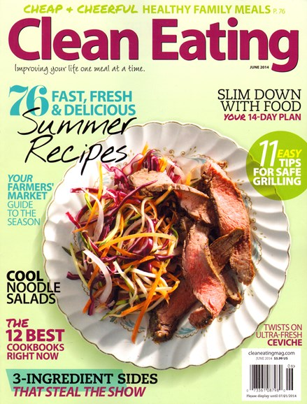 Clean Eating Cover - 6/1/2014