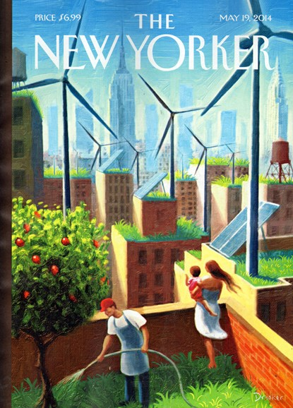 The New Yorker Cover - 5/19/2014