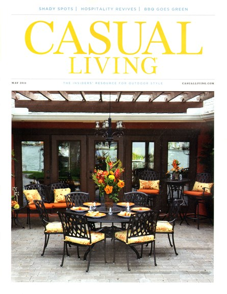 Casual Living Cover - 5/1/2014