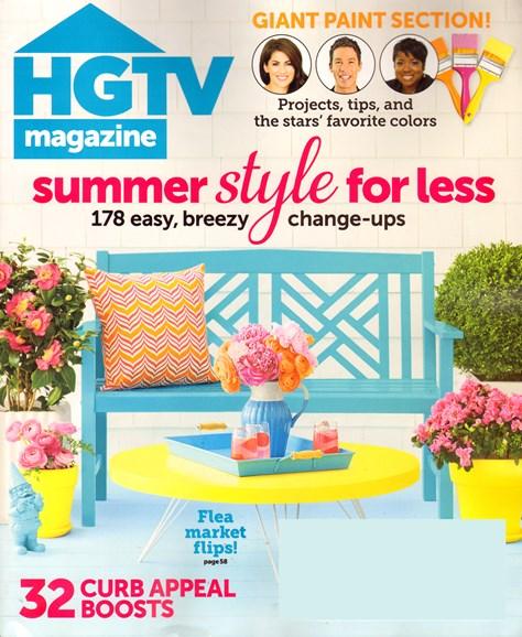HGTV Cover - 6/1/2014