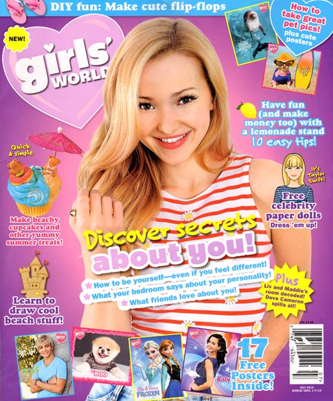 Girls' World Cover - 7/1/2014