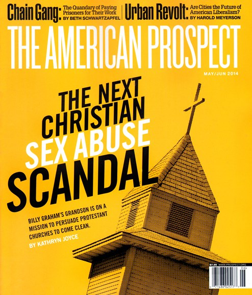 The American Prospect Cover - 5/1/2014