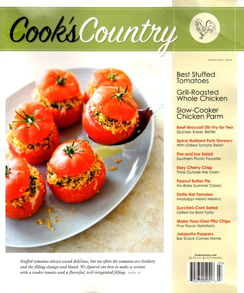 Cook's Country Cover - 6/1/2014