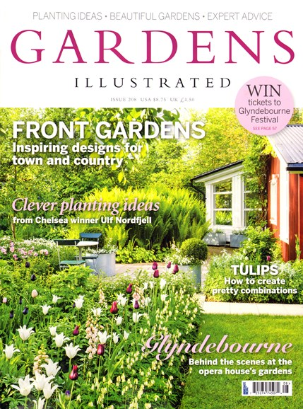 Gardens Illustrated Cover - 4/1/2014