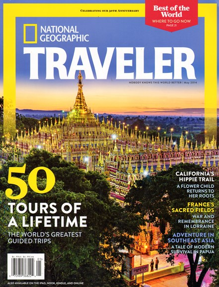 National Geographic Traveler Cover - 5/1/2014