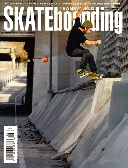 Transworld SKATEboarding Cover - 6/1/2014