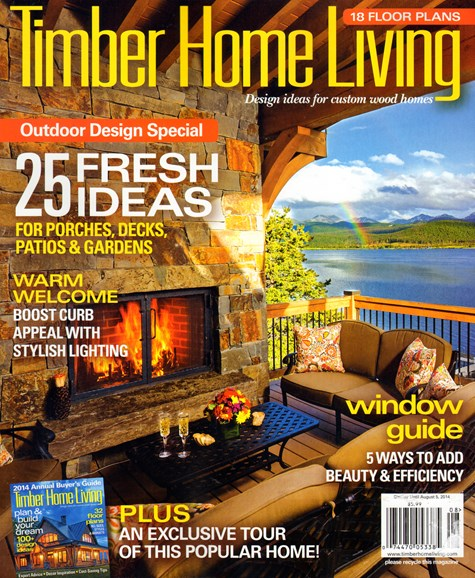 Timber Home Living Cover - 8/1/2014