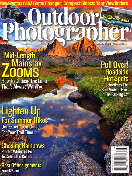 Outdoor Photographer Cover - 6/1/2014