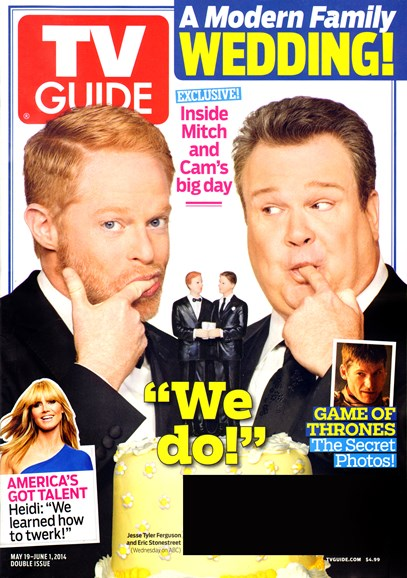 TV Guide Cover - 5/19/2014