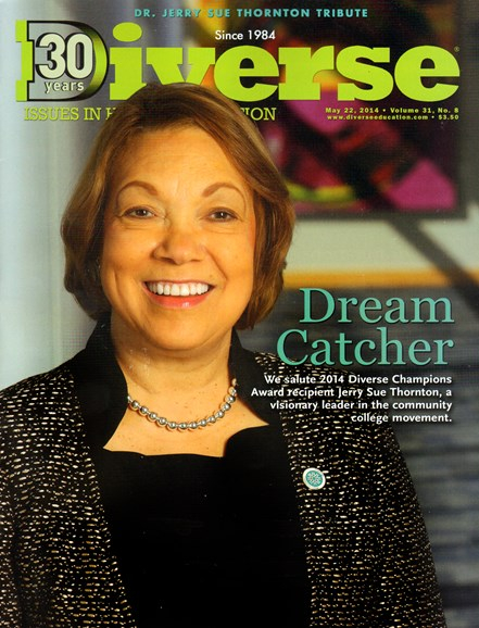Diverse: Issues In Higher Education Cover - 5/22/2014