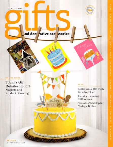 Gifts And Decorative Accessories Cover - 5/1/2014