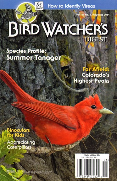 Bird Watcher's Digest Cover - 5/1/2014