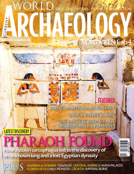 Current World Archaeology Cover - 4/1/2014