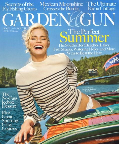 Garden & Gun Cover - 6/1/2014