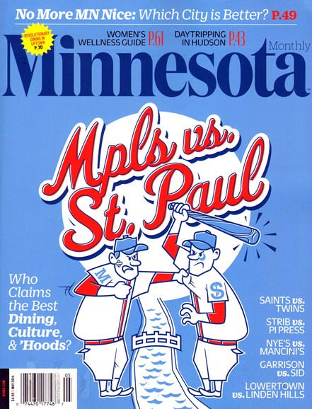 Minnesota Monthly Cover - 5/1/2014