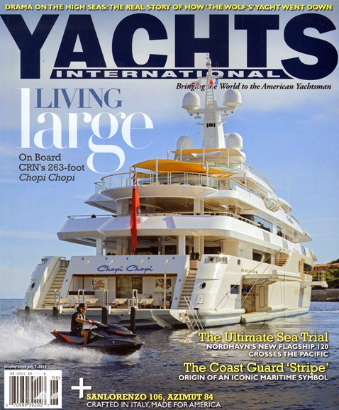 Yachts International Cover - 5/1/2014