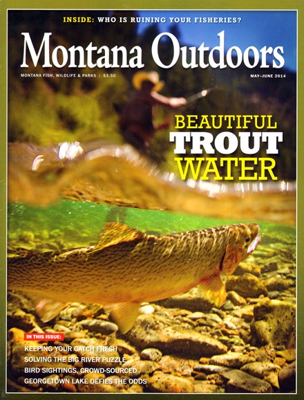 Montana Outdoors Cover - 5/1/2014
