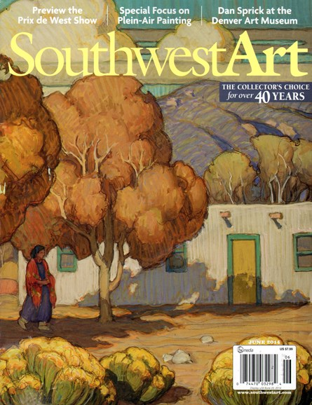 Southwest Art Cover - 6/1/2014