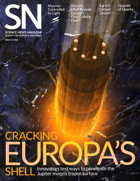 Science News Cover - 5/17/2014