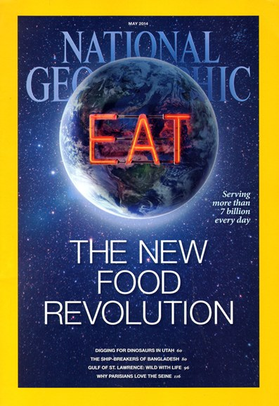 National Geographic Cover - 5/1/2014