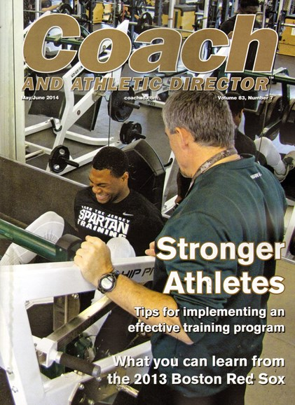 Coach & Athletic Director Cover - 5/1/2014