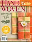 Handwoven Magazine 5/1/2014