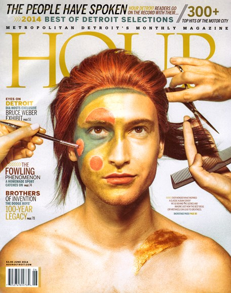 Hour Detroit Cover - 6/1/2014